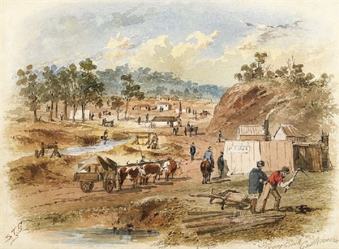 fryers creek castlemaine by samuel thomas gill