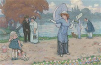 au revoir by charles-auguste edelmann