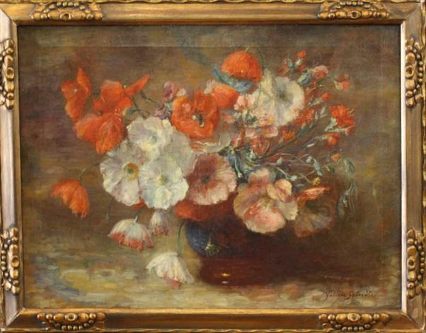 nature morte au bouquet by valerie geleedts