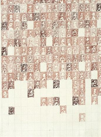 anthropogramming (canvases) by dan perjovschi