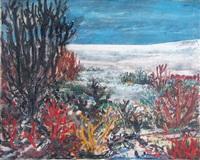 paisaje de las salinas, santiago del estero by antonio berni