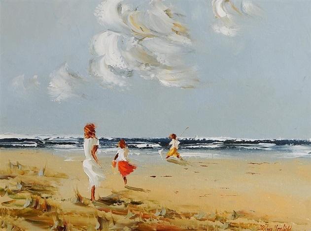 beach fun by thelma mansfield
