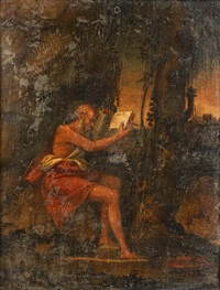saint jerome in the wilderness by giovanni bellini