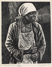 """catlett black singles Elizabeth catlett was an american sculptor and  each of the fifty-eight circles includes the words """"black is beautiful"""" and a single black panther at its ."""