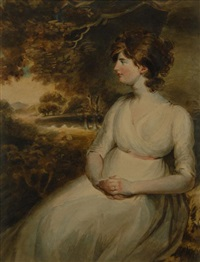 portrait of emma langstone bates by john russell