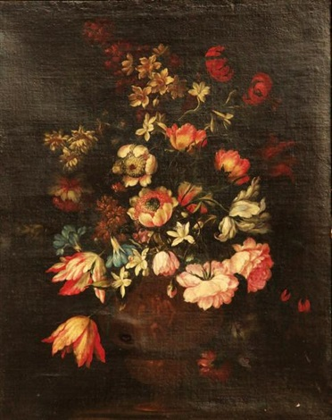 bouquet de fleurs by mario nuzzi