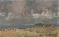 paisaje de campo by eduardo amezaga