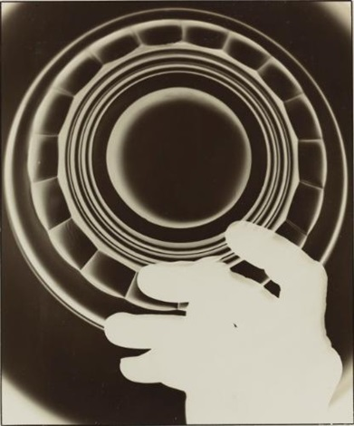 photogram advertisement for a glass manufacturer cologne by august sander