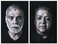 wafaa and ahmed (from our house is on fire series) (in 2 parts) by shirin neshat