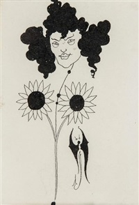 vignette (for p.110 in bon-mots of samuel foote and theodore hook) by aubrey vincent beardsley