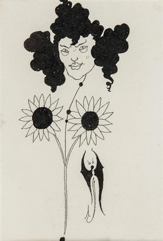 vignette for p110 in bon mots of samuel foote and theodore hook by aubrey vincent beardsley