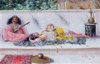 les danseuses orientales by antonio rivas