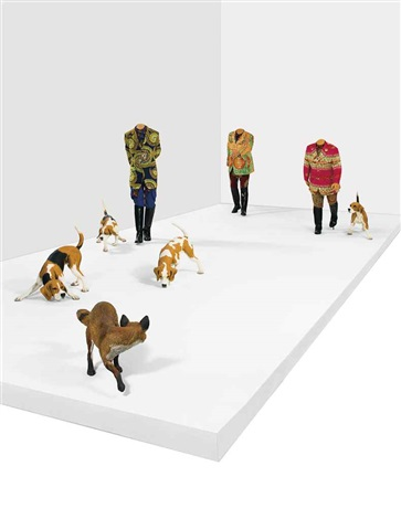 hound in 8 parts by yinka shonibare mbe