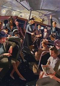 the night bus by herbert edward badham