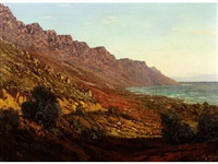 camps bay and the twelve apostles by tinus de jongh