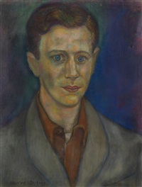 untitled (portrait of a young man) by beauford delaney
