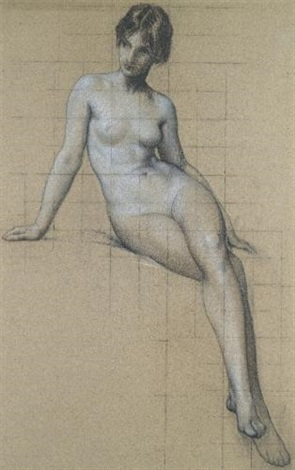 the kelpie study by herbert james draper