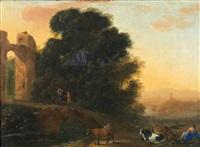 la fuite en égypte by herman van swanevelt
