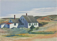 kelly jenness house by edward hopper