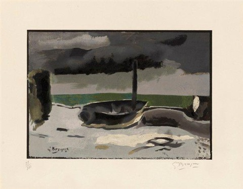 la barque by georges braque