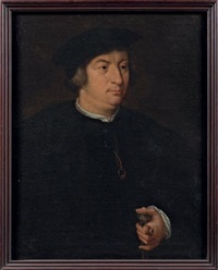 portrait (josephus antonius da costa?) by hans holbein the elder