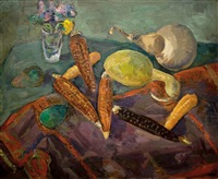 still life with vegetables by leo kahn