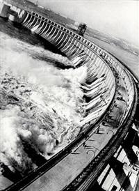 dnieprostroi dam, ukraine by max vladimirovitch alpert