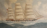 the airlie at sea by john henry mohrmann
