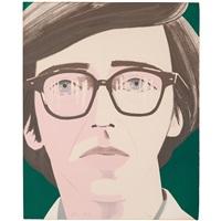 portrait of a poet : kenneth koch by alex katz