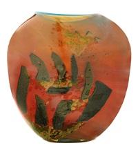 stonehenge, flattened vasiform vessel (1986 works) by william morris