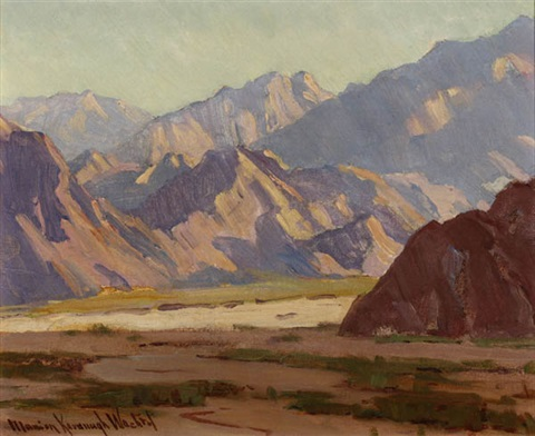 mountain landscape by marion kavanaugh wachtel