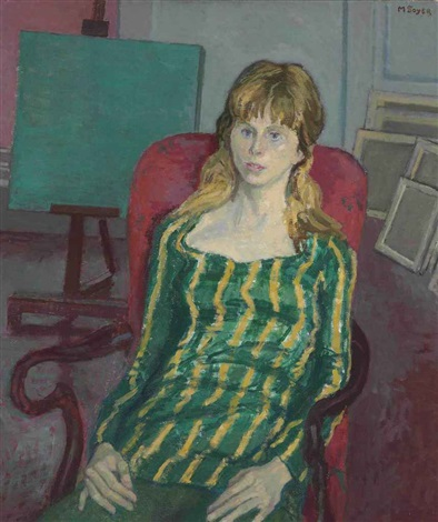 carol in a mini skirt by moses soyer