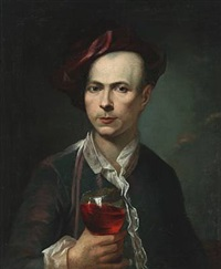 portrait of the german painter anton raphaël mengs by anton raphael mengs