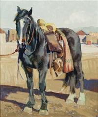 el caballo negro by john moyers