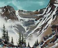 rockies power (yoho national park) by allan dunfield