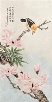 工笔花鸟图 by ma yuanyu