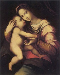 the madonna and child by andrea piccinelli