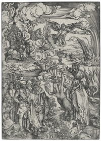 the babylonian whore (from the apocalypse) by albrecht dürer