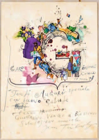 lettera tanti auguri speciale by jean tinguely