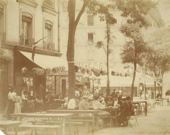 place sainte catherine paris by eugène atget