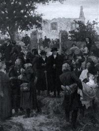 der bürgermeister von berlin auf dem schlachtfeld bei grossbeeren by georg bleibtreu