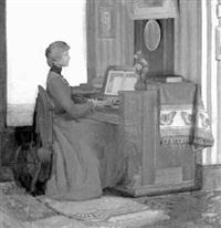 the organist by harry mills walcott