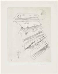 zweite radierung für die editions cahiers d'art by wassily kandinsky