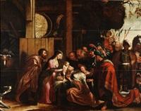 adoración de los reyes by willem van herp the elder