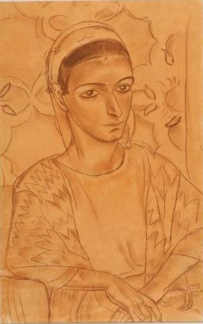 yemenite woman by grete wolf krakauer