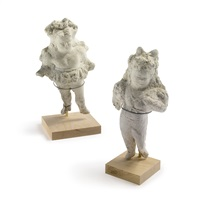two circus figures (2 works) by elie nadelman