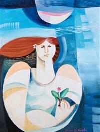 figura col fiore by vittorio maria di carlo