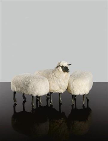 moutons de laine in 3 parts by françois xavier lalanne