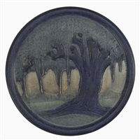 oak trivet by a.f. simpson