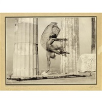 athènes - nicolsca dansant dans le parthenon by nelly (elli seraidari)